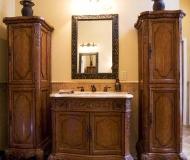 sink mirror bathroom