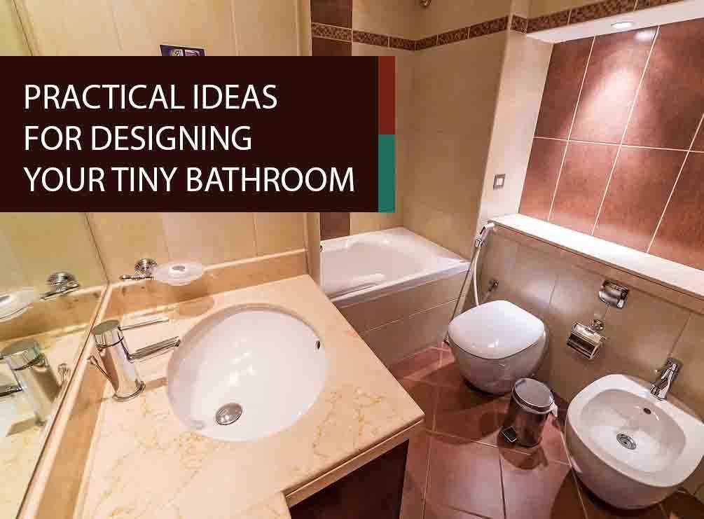 Practical Bathroom Design Ideas ~ Practical ideas for designing your tiny bathroom